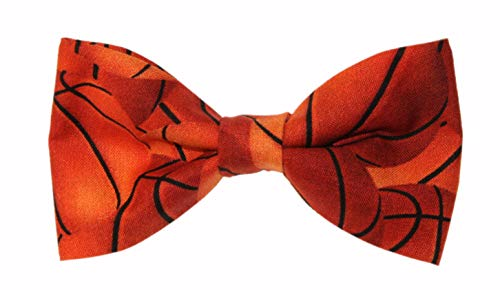Men's Basketball Clip On Cotton Bow Tie Bowtie by amy2004marie ()