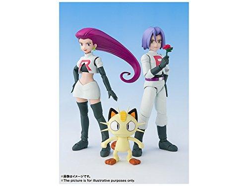 S. H. Figuarts Pokémon Rocket Group about 140 mm ABS & PVC painted action figure