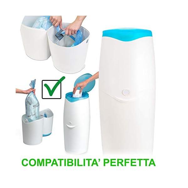 Ricarica Maialino Foppapedretti compatibili sistema smaltimento pannolini Angel care (6-pezzi 1920 pannolini) sacchetto… 7