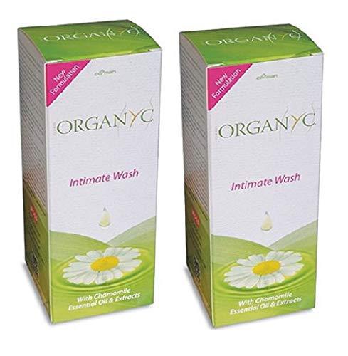 ORGANYC Organic Feminine Intimate Wash, 8.5 oz – 2pc