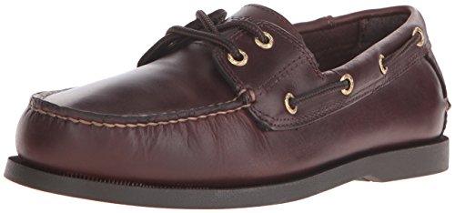 (Dockers Men's Vargas Leather Handsewn Boat Shoe,Raisin, 7.5 M US)