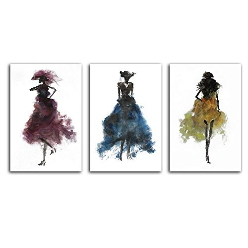 (wall26 - Fashion Ladies Woman Concept - Canvas Art Wall Decor - 24
