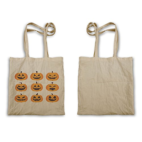 Tote Bag Halloween Zucca Spaventosa Q182r