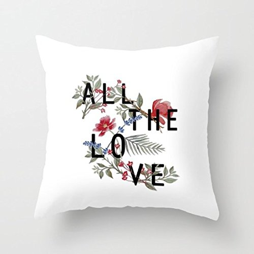 Decorative Pillow Case All The Love Cushion Cover 18