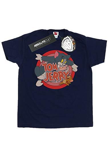 Tom Classic Jerry And Catch Mujer Camiseta Armada Del Novio Fit qrarRt