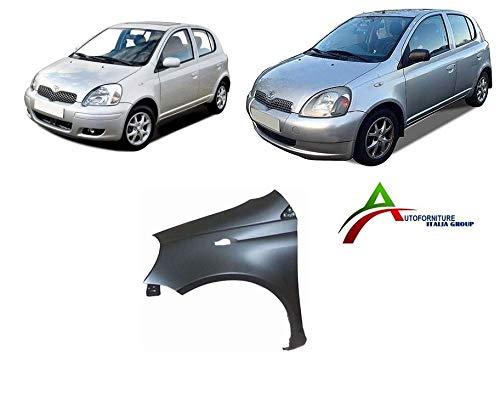 Parafango anteriore sinistro da verniciare per auto dal 1999 al 2005