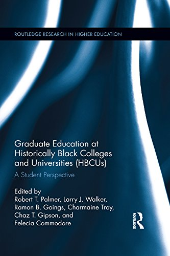 Search : Graduate Education at Historically Black Colleges and Universities (HBCUs): A Student Perspective (Routledge Research in Higher Education)