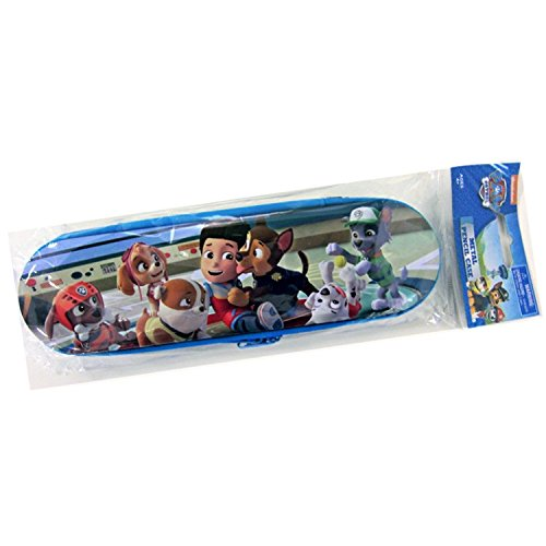 Paw Patrol Dogs Metal Zippered Pencil Case Holder Photo #3