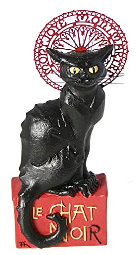 (Parastone Pocket Art Le Chat Noir Black Cat Miniature Statue by Steinlen PA15STE )
