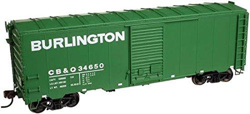 ATLAS HO MASTER 40' AAR BOX CAR BURLINGTON