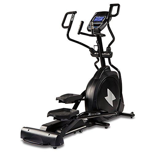 XTERRA Fitness FS5.8e Residential Elliptical Trainer - Free Style 5.8e Incline Elliptical Machine with Multi-Grip Handlebars