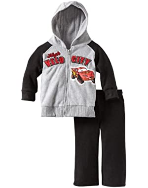 Disney Baby Boys' 2 Piece Cars High Velocity Fleece Set