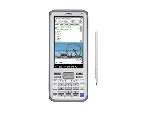 Casio Touchscreen with Stylus Graphing Calculator, 4.8