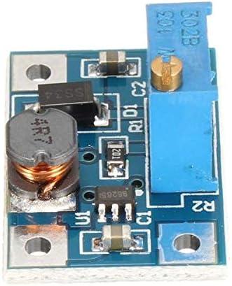 Módulo electrónico 2A DC-DC SX1308 Módulo de elevación de alta corriente de alta corriente Protección de circuito de cortocircuito de sobrecalentamiento Función 3 unids Equipo electrónico de alta prec
