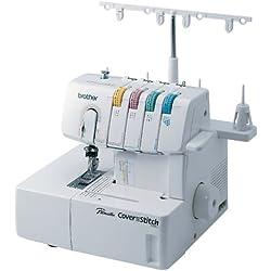 Brother Serger, 2340CV, Cover Stitch, Advanced Serger, Color-Coded Threading Guide, Dial Adjustment for Stitch Length, Presser Foot Pressure Adjustment