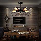 Semi Flush Mount Ceiling Light - BAYCHEER Vintage
