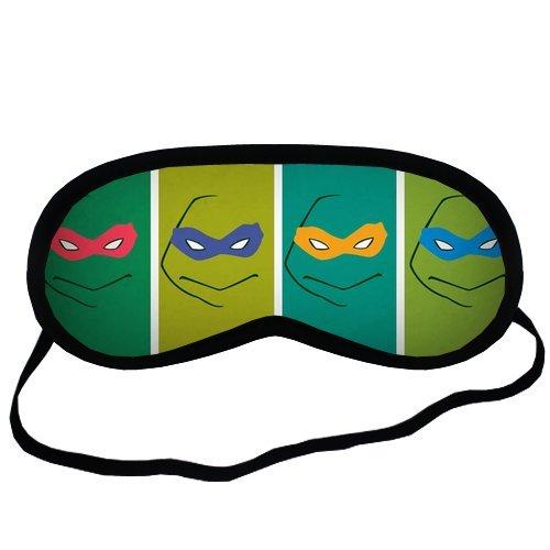 Ninja Turtles Green Creative Sleeping Mask Travel Soft Co...