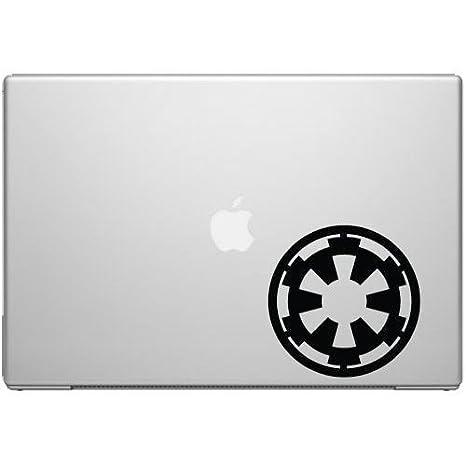 "Imperial Logo Vinyl Decal Sticker Star Wars SILVER 1.5/"""