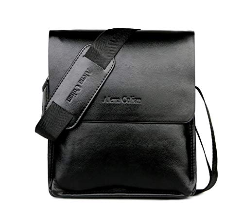 Messenger Bag For Men Classic Business Crossbody Shoulder Bags Casual Man Bag(black)