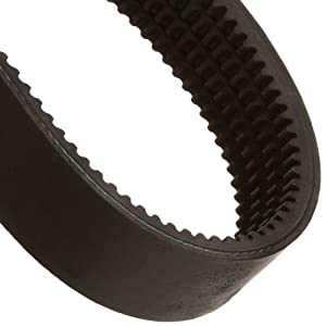 "Gates 10/3VX500 Super HC Molded Notch PowerBand Belt, 3VX Section, 3-3/4"" Overall Width, 21/64"" Height, 50.0"" Belt Outside Circumference"