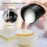 Milk Frother, iTeknic Electric Milk Steamer Soft