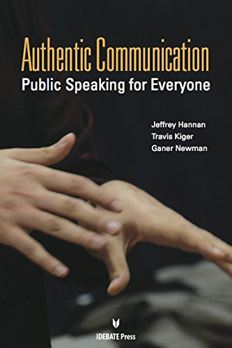 Authentic Communication: Public Speaking for Everyone