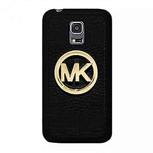 MK Logo Samsung Galaxy S5 MINI Phone Case,Michael Kors MK Logo Phone Case Cover For Samsung Galaxy S5 MINI,Black Phone Case