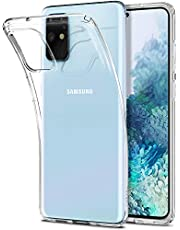 SPIGEN [Liquid Crystal] Galaxy S20+ PLUS Case Cover with Transparent and Flexible TPU Compatible with Samsung S20 PLUS (2020) - Crystal Clear