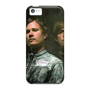 Iphone 5c Natural TUFF Hybrid Seahorse Phone Protector Cover (Pink) Kimberly Kurzendoerfer