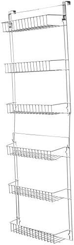 Lavish Home Closet Organizer6 Shelves Over the Door Pantry Organizer and Bathroom Organizer by Lavish Home