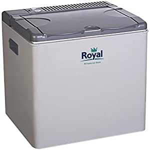 Royal 772835 3 Way Absorption Cooler-Grey, 40 litres