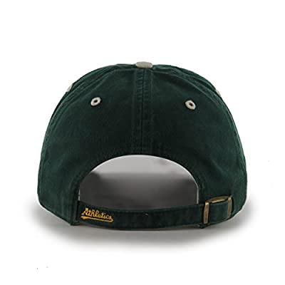 MLB Oakland Athletics Ice Adjustable Hat, One Size, Dark Green