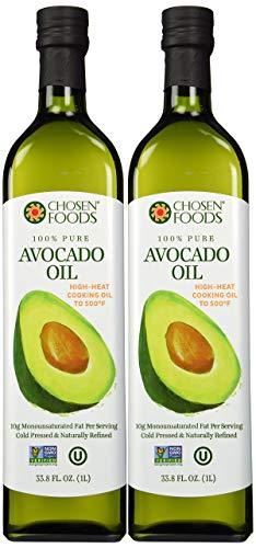 Chosen Foods 100% Pure Avocado Oil 1 L (2 Pack)