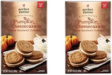 Cookies: Archer Farms Pumpkin Cheesecake Cookies
