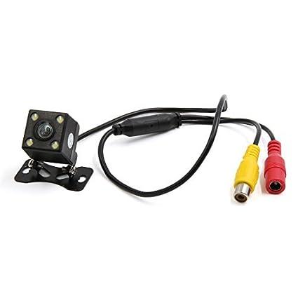 eDealMax Monte tornillo Universal de 170 grados 580 líneas de TV LED CCD retrovisor copia de