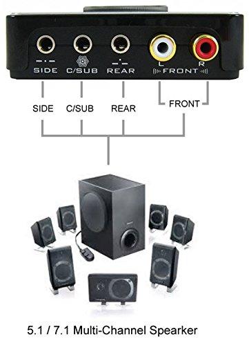 108dB Terratec Aureon X Fire 8.0 HD externe Soundkarte