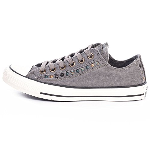 Converse All Star Eyebrow Cut Ox Donna Sneaker Grigio