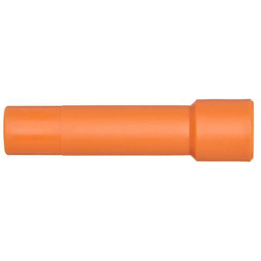 One-Touch Fitting; Plug; Pneumatic; forKQ 5/16-inch Diameter; Orange; Plastic, Pack of 10