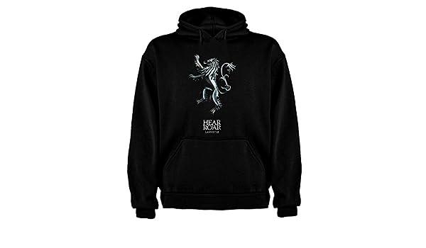Sudadera de Hombre Juego de Tronos Tyrion Daenerys Dragon Cuervo: Amazon.es: Ropa y accesorios