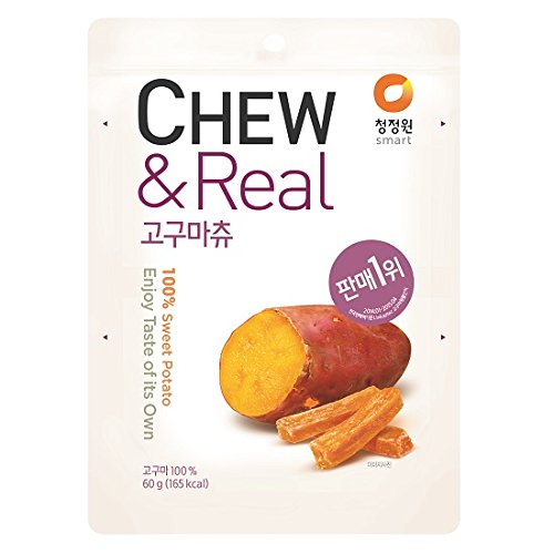 CJW 100% Dried Sweet Potato Chew Snack 211 Oz Pack of 3