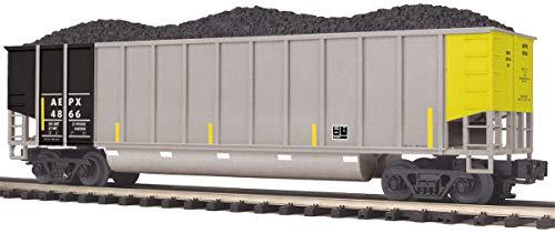 MTH 1:48 O Scale AEPX #4828 Coalporter Hopper Car w/Coal Load Train #20-97242