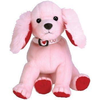 c4f7c84ef93 Amazon.com  Ty Beanie Babies - Brigitte the Pink Poodle Dog  Toys ...