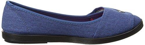 Blowfish Women's Galner Closed-Toe Heels Blue (Blue Denim) sV0zV5OIzC