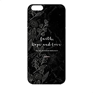 Covery Cases Faith Back Cover For Apple Iphone 6 Plus - Multi Color
