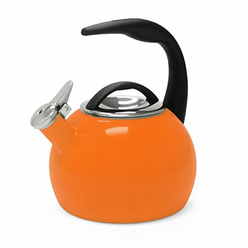 chantal orange tea kettle - 4