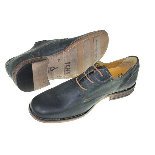Yellow Cab Tumbler - Zapatos de cordones de cuero para hombre verde Moss, color verde, talla 42.5