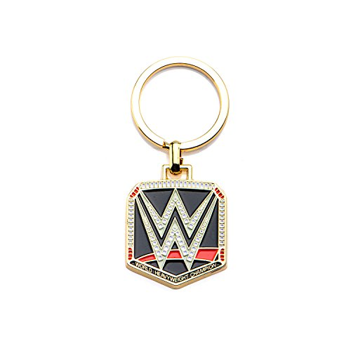 wwe-logo-gold-pvd-plated-stainless-steel-keychain