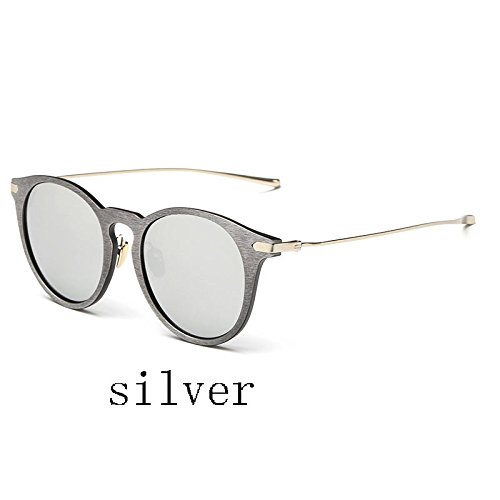 Sol Madera 026C3 Gafas 026C7 Gafas Uv400 De Mujer TIANLIANG04 De Fake Trigo De qEwzzxTR4