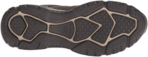 Skechers Mens Relaxed Fit-Rovato-Soloven Oxford Brown 6kqV9X