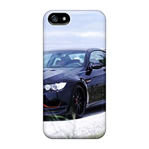 Iphone 5/5s Cover Case - Eco-friendly Packaging(bmw Black Cars Vehicles)